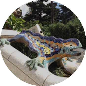 Park Guell グエル公園
